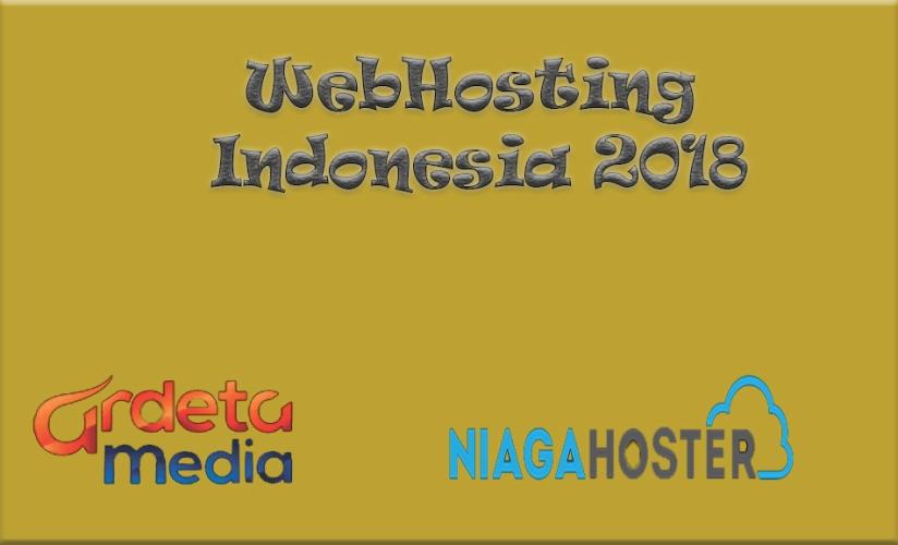 Daftar list hosting Di Indonesia2018
